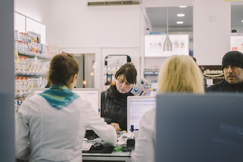 four women in a hospital to display which jobs require interpersonal skills