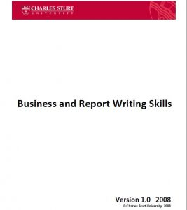 Read more about the article Business and Report Writing Skills