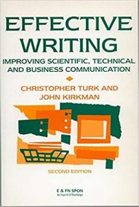 Read more about the article EFFECTIVE WRITING: Improving Scientific, Technical and Business Communication