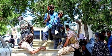 soldier moving according to riyadh agreement