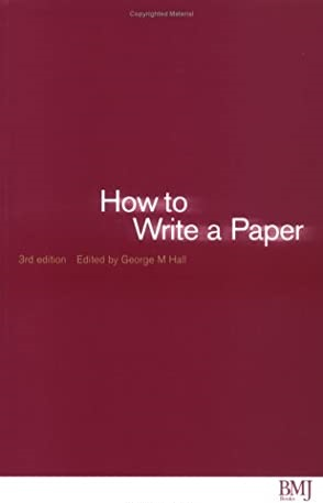 Read more about the article How to Write a Paper
