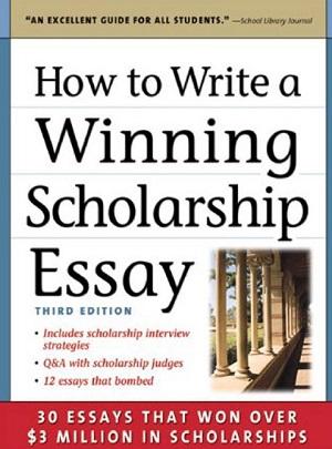 winning scholarship essay