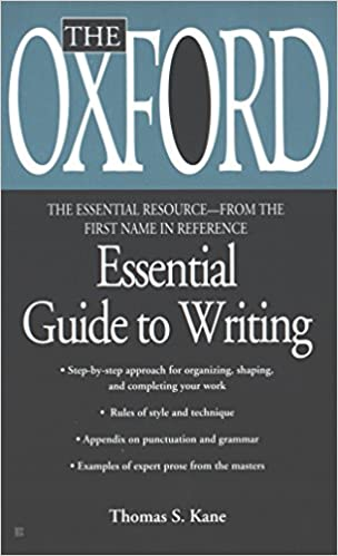 the oxford essential guide to writing