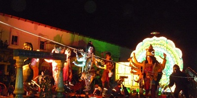 Madikeri is one of the best places for Dussehra