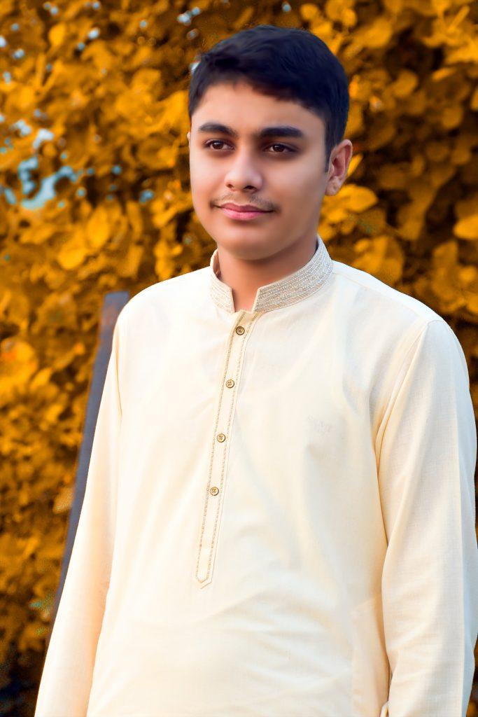 Muhammad Wajahat Asif Feeling Happy